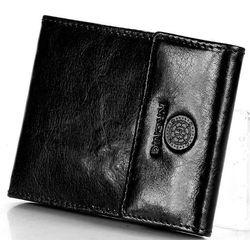 Skórzane etui na karty, dokumenty classic 12034 czarne marki Krenig