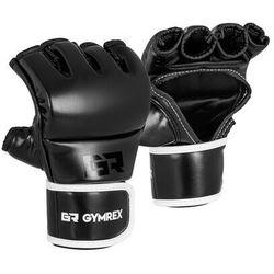 Gymrex Rękawice mma - rozmiar s/m - czarne