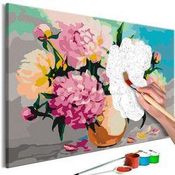 Obraz do samodzielnego malowania - kwiaty w wazonie marki Artgeist