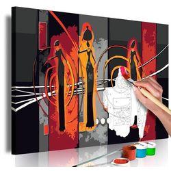 Artgeist Obraz do samodzielnego malowania - afrykanki