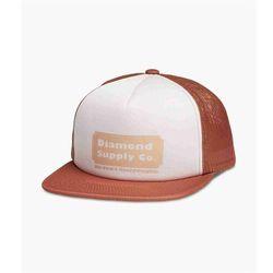 czapka z daszkiem DIAMOND - Hardware Trucker Hat W/ Rope Brown (BRN) rozmiar: OS
