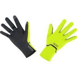 m gore-tex infinium rękawiczki elastyczne, żółty/czarny 8 2021 rękawiczki szosowe marki Gore wear