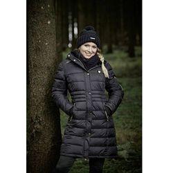 zimowy płaszcz damski Covalliero A/W 2020 - antracyt, XXL (44)