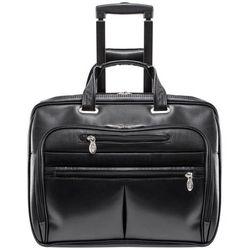 Skórzana walizka na kółkach wrightwood 80505 (0642154805058)