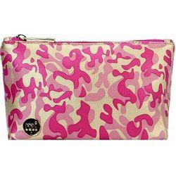 Torba na kosmetyki - make up bag metallic camo gold/pink (015) marki Mi-pac