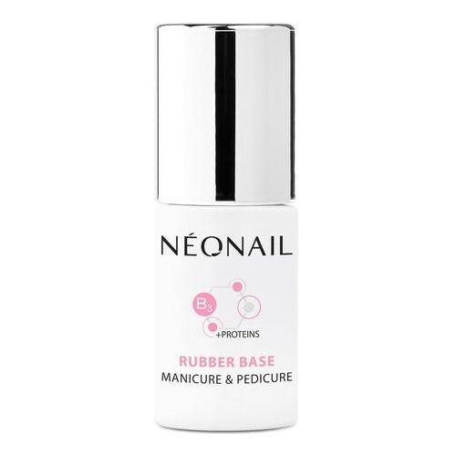 Neonail Baza hybrydowa rubber base manicure & pedicure 7,2 ml