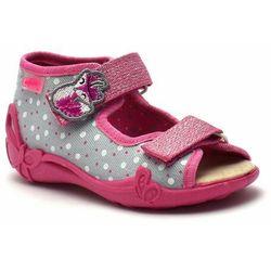 Kapcie/sandałki dla dzieci Befado 342P018 Papi, kolor różowy