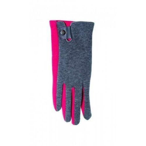 Yo! r-039 z zapinką damskie rękawiczki