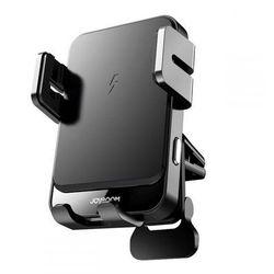 Uchwyt samochodowy na kratkę Joyroom Vent Car Mount Wireless Charger Black