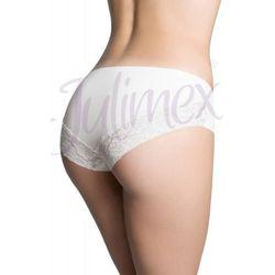 Figi damskie Julimex Cheekie Panty białe