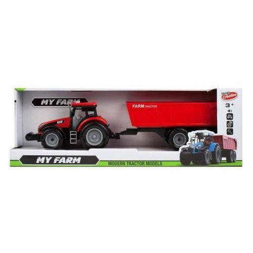 Jeżdżące dla dzieci, Traktor z akcesoriami 43 cm moje ranczo