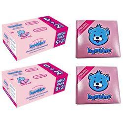 Zestaw 2x BAMBINO 5+2 gratis Chusteczki nawilżane dla niemowląt + 2x mydełko Bambino z lanoliną Gratis