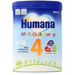 HUMANA 4 800g Mleko modyfikowane dla dzieci Od 24. miesiąca życia