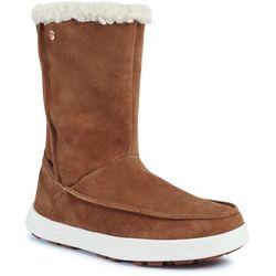 Śniegowce JACK WOLFSKIN - Auckland Wt Texapore Boot H W 4041321 Desert Brown/White