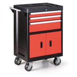 Pojemnik na narzędzia na kółkach, 3 szuflady