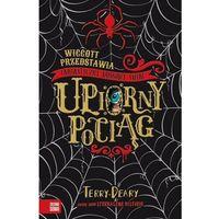Literatura młodzieżowa, Upiorny pociąg. wiggott przedstawia fantastyczny woskowy świat - terry deary (opr. broszurowa)