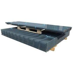 vidaXL Panele ogrodzeniowe 2D z słupkami 2008x1030 mm 16 m Szare Darmowa wysyłka i zwroty