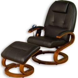 Ekskluzywny fotel z masażem Stilista czarny