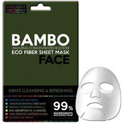 Beauty Face Dla mężczyzn Beauty Face Dla mężczyzn IST men booster mask bambus i sól – skoncentrowana maseczka do twarzy na płacie dla mężczyzn oczyszczająca i detoksująca maske 25.0 g