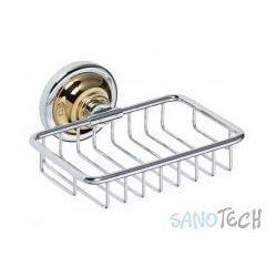 Mydelniczka-koszyczek RETRO chrom/złoto 144208168