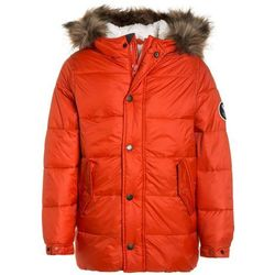Abercrombie & Fitch ELEVATED PUFFER Płaszcz zimowy orange