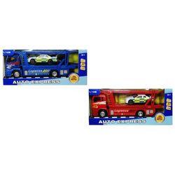 Zabawka SWEDE Ciężarówka laweta ze światłem i dźwiękiem