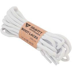 sznurówki GRAVITY - Snb Boot Laces White (WHITE)