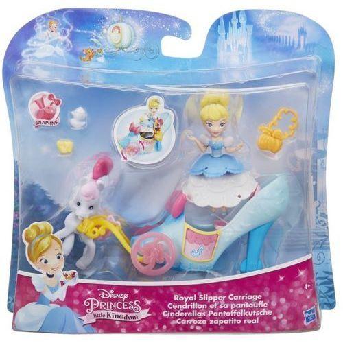 Figurki i postacie, Disney Pincess Pojazd Księżniczki Kopciuszek - Hasbro
