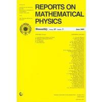 Matematyka, Reports on Mathematical Physics 63/3 2009 Kraj (opr. miękka)