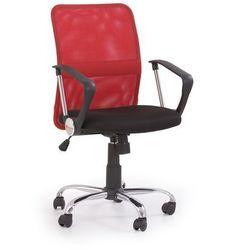 Fotel pracowniczy Tony czerwony - gwarancja bezpiecznych zakupów - WYSYŁKA 24H