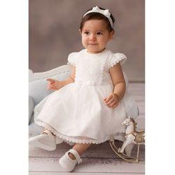 Sukienka niemowlęca na Chrzest 6K38AM Oferta ważna tylko do 2023-07-30
