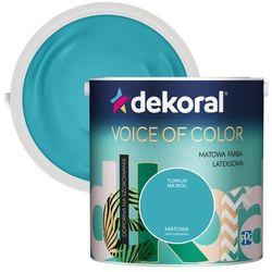 Farba Dekoral Voice of Color turkus ma moc 2,5 l
