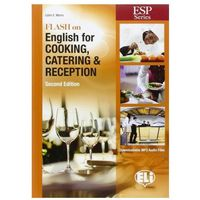 Książki do nauki języka, Flash on English for Cooking, Catering & Reception New Edition + MP3 (opr. miękka)