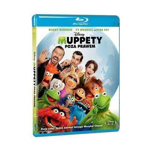 Filmy familijne, MUPPETY: POZA PRAWEM (BD) - Zakupy powyżej 60zł dostarczamy gratis, szczegóły w sklepie