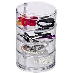 Pudełko, pojemnik na kosmetyki, biżuterię, drobiazgi - 4 poziomy, WENKO
