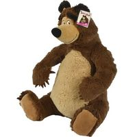 Pozostałe zabawki, SIMBA Masza Pluszowy Niedźwiedź, 50 cm 109309894 - odbiór w 2000 punktach - Salony, Paczkomaty, Stacje Orlen