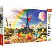 Puzzle, Puzzle 1000 elementów Słodki Paryż