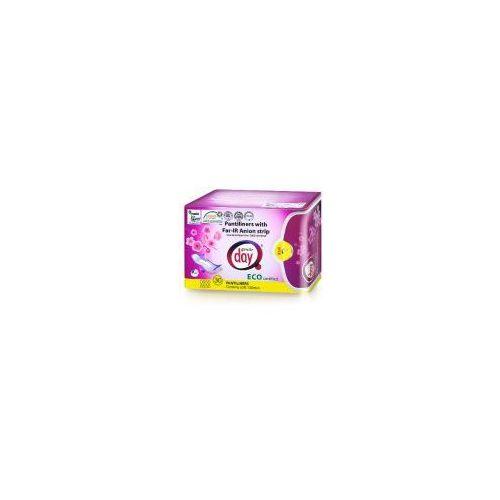 Wkładki higieniczne, Gentle Day - Wkładki ekologiczne z paskiem anionowym: Rozmiar - 30 sztuk