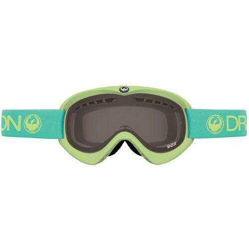Kaski i gogle, gogle snowboardowe DRAGON - Dx Aqua (Smoke + Yellow) (770) rozmiar: OS