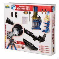 Pozostałe zabawki edukacyjne, Teleskop + mikroskop Zestaw EDUKACYJNY