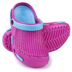 Spokey Fliper - klapki basenowe dziecięce r.32 (różowo-niebieski)