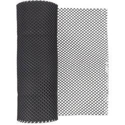 Siatka ogrodzeniowa z tworzywa sztucznego typ 201 czarna 40 cm x 500 cm