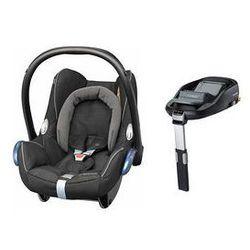 Fotelik samochodowy Cabrio Fix 0-13 kg + Baza Family Fix Maxi-Cosi (Black Diamond)
