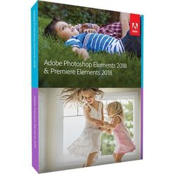 Adobe Photoshop + Premiere Elements 2018 UK Windows