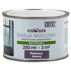 Emalia akrylowa Colours fioletowa ciemna 0,25 l
