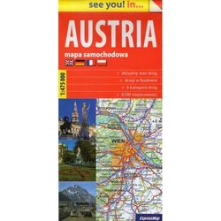 Austria, 1:475 000 (opr. miękka)