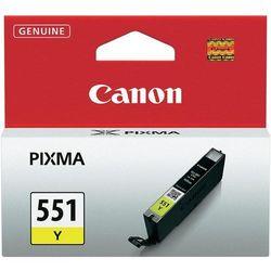 Canon oryginalny ink CLI551Y, yellow, 7ml, 6511B001, Canon PIXMA iP7250, MG5450, MG6350, MG7550