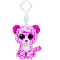 Pluszaki zwierzątka, Brelok pluszowy do kluczy tygrys Beanie Boos 8,5 cm