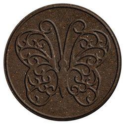 Benco Gumowa płyta do ogrodu Motyl, brązowy