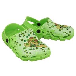 AXIM 2KL7092 zielony, croksy klapki dziecięce rozmiary: 24-29 - Zielony